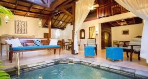 two bedroom spa villa in seminyak