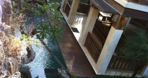 3 bedroom beach side villa in sanur