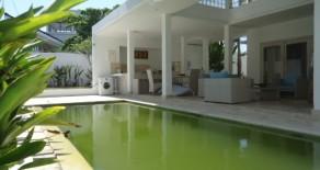 Beautiful white villa at Nusa Dua