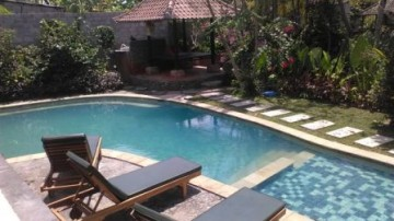 Beautiful villa near Ubud central art