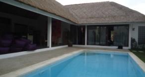 Tropical villa in Seminyak
