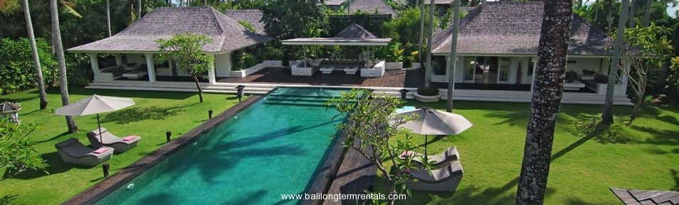 Bali Villa Long Term Rentals