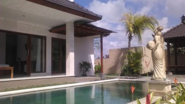 Brand new villa in Ubud with really nice rice field view