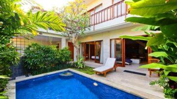 3 bedroom beachside villa in Sanur