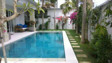 Modern beach front villa in Echo beach
