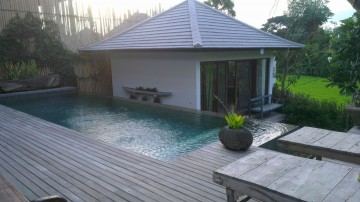 Lovely 3 bedrooms villa with rice field view