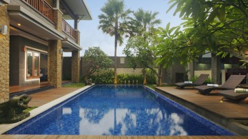 Nice 4 bedroom villa in good area of Seminyak