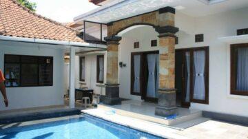 3 bedroom quiet villa in Sanur
