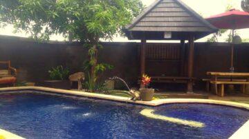 Nice 2 bedroom private pool villa in Kerobokan area
