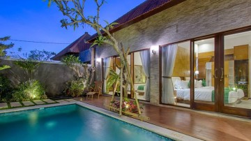 2 Bedroom private pool villa in Batu Bolong, Canggu area