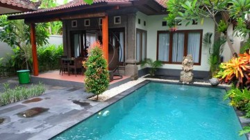 Cozy 3 bedroom villa in central Sanur