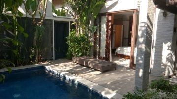 1 Bedroom private villa in Batu Bolong, Canggu area Monthly Rental