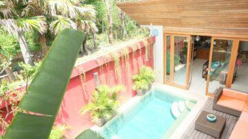 Comfortable 4 bedroom villa walking distance to the beach