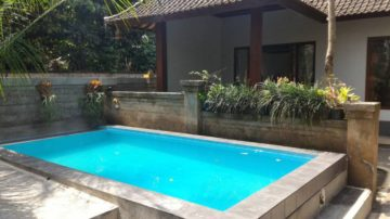 2 bedroom villa in tranquil area of Ubud.