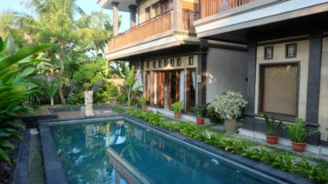 Cozy 1 bedroom villa with rice field view in Ubud