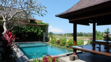 Beautiful 1 bedrom villa with shared pool in Ubud area