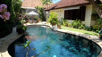 2 bedroom private villa on a beach side of Sanur