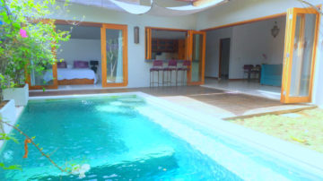 Nice 3 bedroom private villa close to Berawa Beach