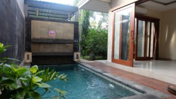 2 bedrom villa with rice field view in Kerobokan