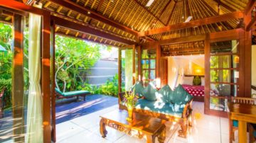 Luxury 1 Bedroom with Private Waterfall in Ubud