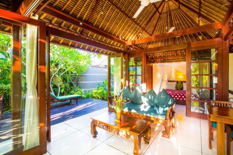 bedroom waterfall.  Luxury 1 Bedroom with Private Waterfall in Ubud