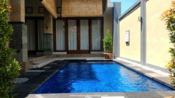 Homey 2 bedroom villa in tranquil area of Sanur