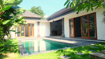 Unfurnished 3 bedroom villa in Umalas area