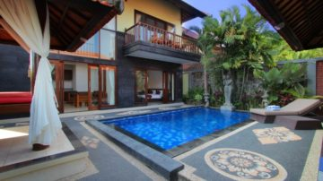 Fully furnish 2 bedroom villa in north Canggu