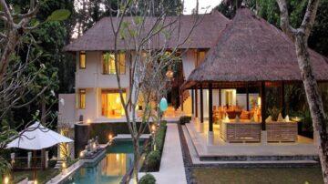 5 bedroom riverside villa in Cepaka, North of Pererenan (Close to Green School)
