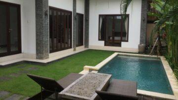 3 bedroom villa in Umalas with rice field view