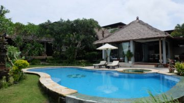 Wonderful private villa in Jimbaran with ocean view