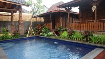 Nice 2 bed room villa with wooden style in North Canggu