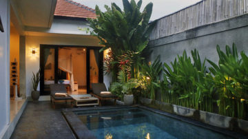 The 3 stylish bedroom villa in North Seminyak