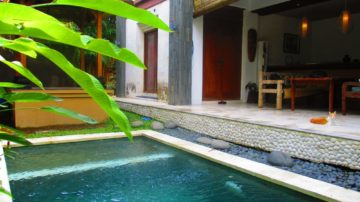 Tranquil 2 bedroom private villa in Canggu with paddy field view