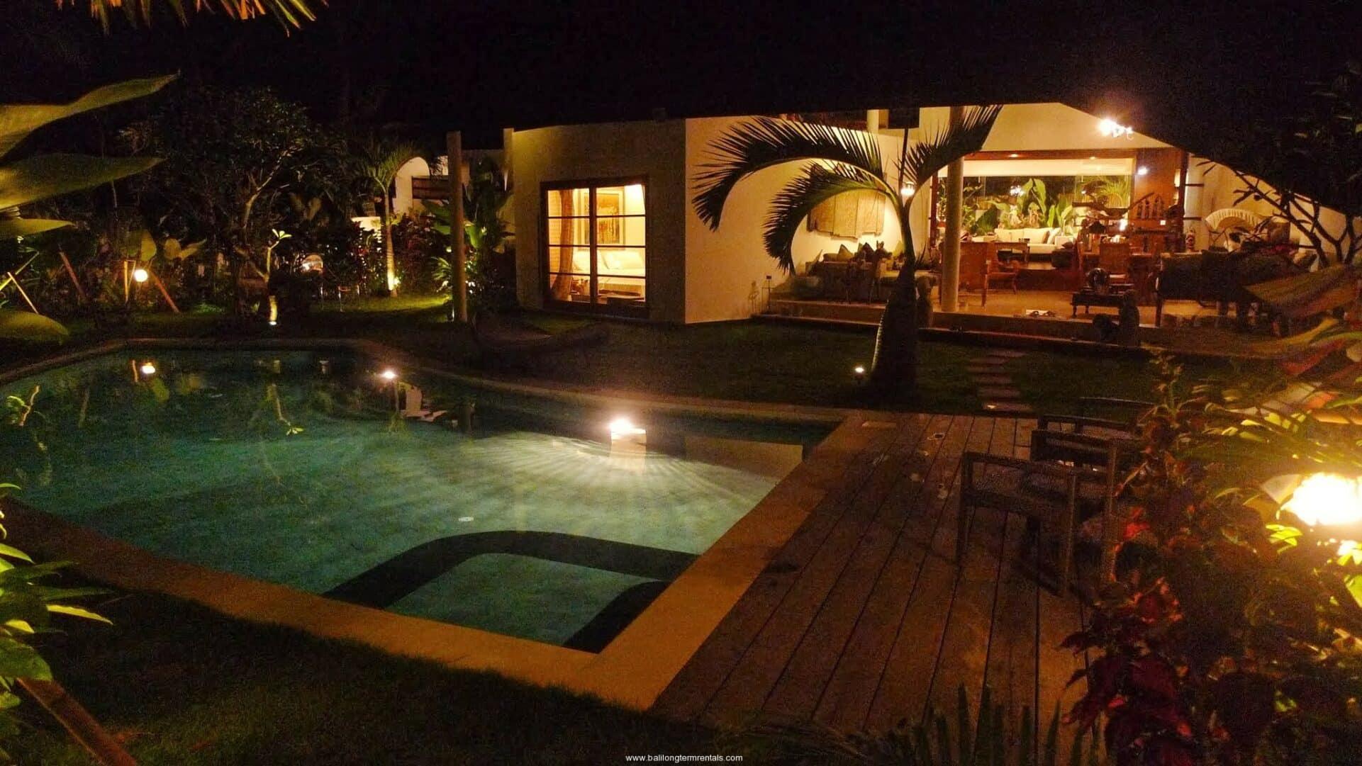 Tropical Style Villa on Villa For Rent In Umalas Bali Long Term Rentals