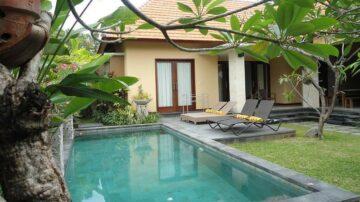 Cozy 3 bedroom villa in a prime location in Sanur