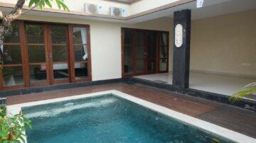 2 bedroom semi-furnish villa in Seminyak