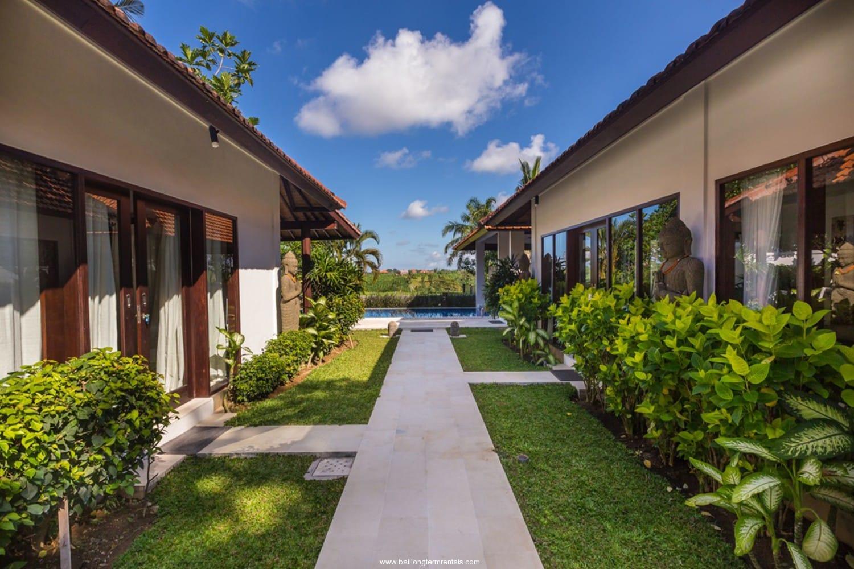 Rice Field View Villa on Villa For Rent In Umalas Bali Long Term Rentals