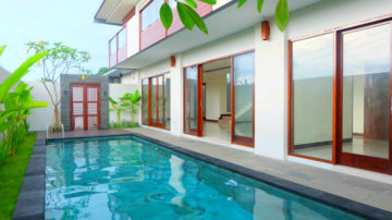 Brand new 3 bedroom villa with paddy field view