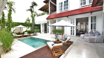 3 ( + 1) bedroom villa close to Berawa Beach