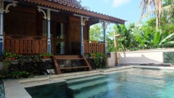 2 bedroom joglo style villa in Canggu