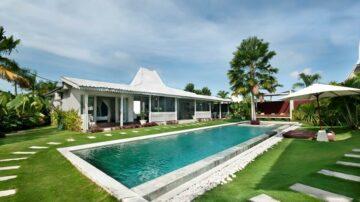 Wonderful 5 bedroom Joglo-style villa in Umalas