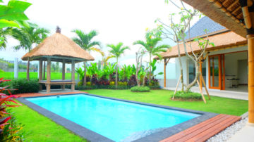 Brand New 2 bedroom villa with rice field view