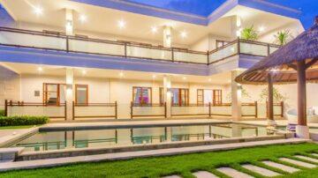 Modern 5 bedroom villa in tranquil area of Canggu