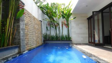 Two bedroom furnished villa in Umalas