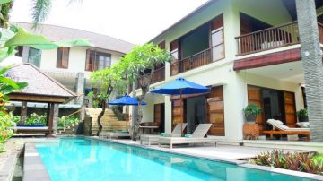 4 bedroom villa in secure residential area of Umalas