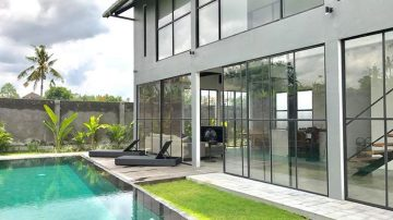 New modern Loft with sunset view and surrounded by rice fields!