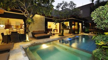 Modern 3 bedroom villa in Seminyak area