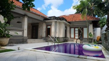 2 bedroom unfurnish villa in Sanur