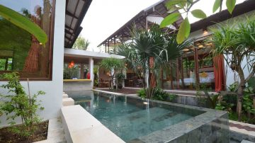 Beautiful 3 bedroom villa in Jimbaran with jungle view